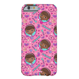 Doc McStuffins | I Care Pink Pattern Barely There iPhone 6 Case