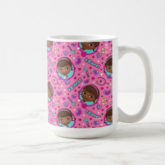 Doc McStuffins | I Care Pink Pattern Coffee Mug
