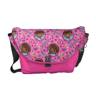 Doc McStuffins | I Care Pink Pattern Courier Bags