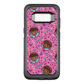 Doc McStuffins   I Care Pink Pattern OtterBox Commuter Samsung Galaxy S8 Case