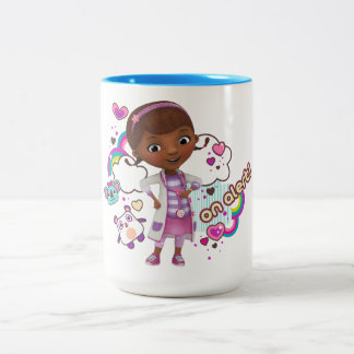 Doc McStuffins | On Alert Two-Tone Coffee Mug