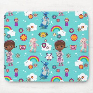 Doc McStuffins | The Care Team Pattern Mouse Pad
