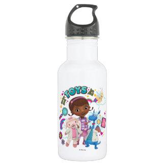 Doc McStuffins   We've Got Toys to Fix 532 Ml Water Bottle