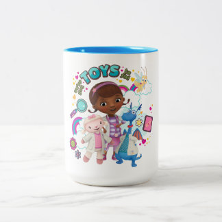 Doc McStuffins | We've Got Toys to Fix Two-Tone Coffee Mug