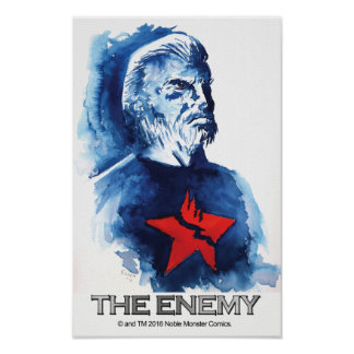 Docc Ronin -- The Enemy 11 X 17 Poster