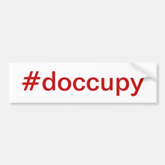#doccupy bumper sticker
