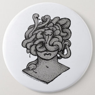 Docile Medusa Button