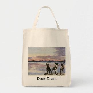 Dock Divers Tote Bag