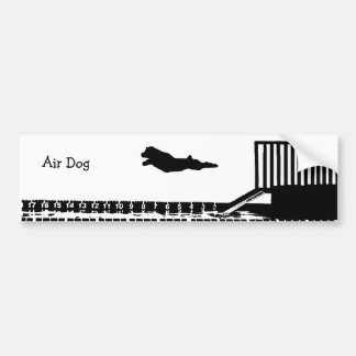 Dock Jumping Bumper Sticker