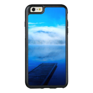 Dock on calm misty lake, California OtterBox iPhone 6/6s Plus Case