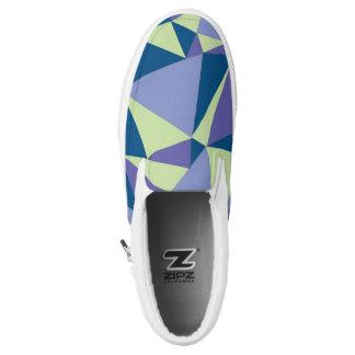 Dock Shoes, Slip Ons, Geometric Design Slip-On Shoes