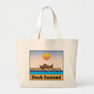 Dock Sunned Large Tote Bag