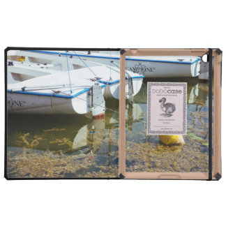 Docked Boats In Water Nautical Photography iPad Cases