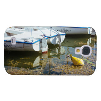 Docked Boats In Water Nautical Photography Galaxy S4 Case
