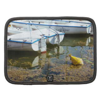 Docked Boats In Water Nautical Photography Organizers