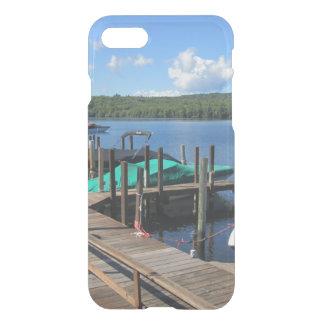 Docked Boats on Beautiful Lake iPhone 7 Case