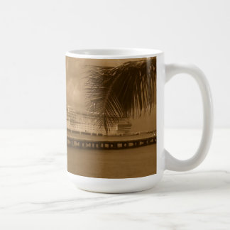 Docked in Cozumel Coffee Mug