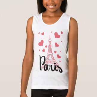 Docker BASIC Paris Girl Singlet