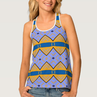 "Docker very printed, woman, ""Tribal II "" Singlet"