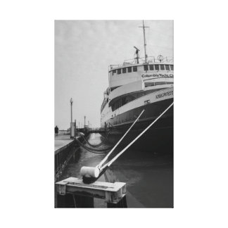 Docking in Chicago Canvas Print