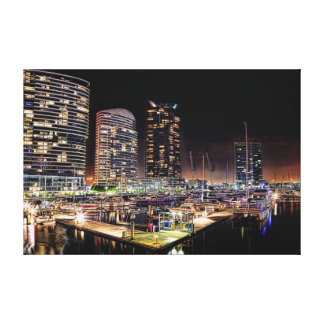 Docklands Canvas Prints