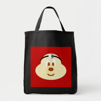 Doctor 鮑 鮑 Black Grocery Tote