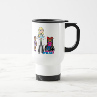 Doctor 1 travel mug