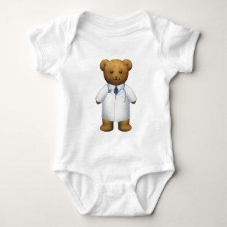 Doctor Bear - Teddy Bear Baby Bodysuit