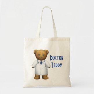Doctor Bear - Teddy Bear Budget Tote Bag