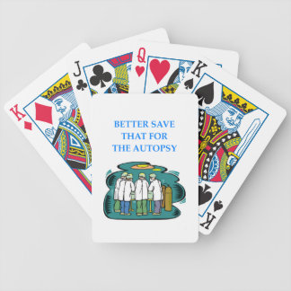 DOCTOR BICYCLE PLAYING CARDS
