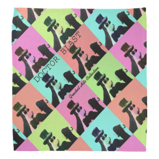 Doctor Blast Pop Art design Bandana