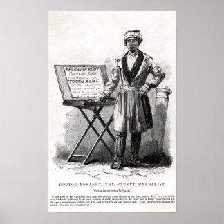 Doctor Bokanky, the street herbalist Poster