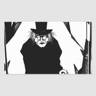 Doctor Caligari Rectangular Sticker