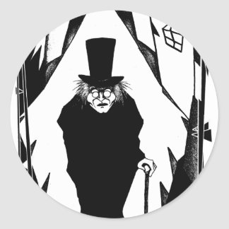Doctor Caligari Round Sticker