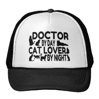 Doctor Cat Lover Cap