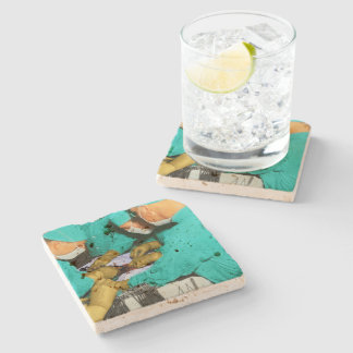 Doctor - Concentration required Stone Coaster