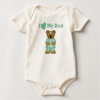 Doctor Dad Baby Bodysuit