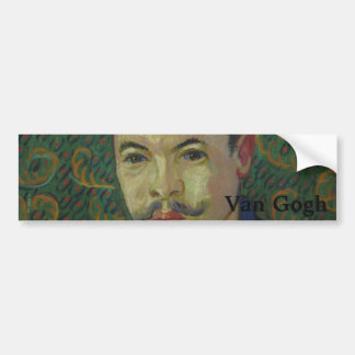 Doctor Felix Rey by Vincent Van Gogh Bumper Sticker