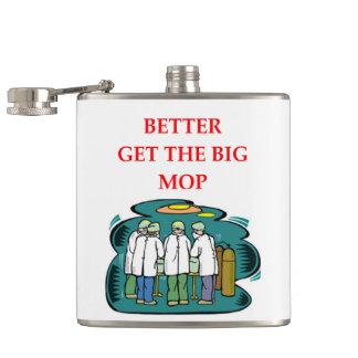 doctor hip flask