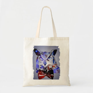 Doctor Hoot | Time Traveling Galaxy Police Owl Tote Bag