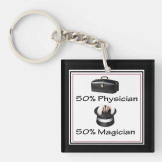 Doctor Keychain - Funny Physician Magician