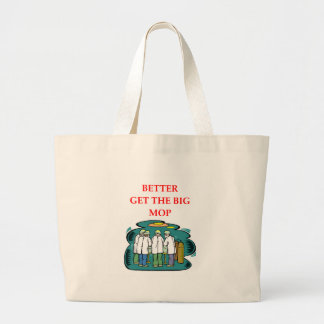 doctor large tote bag