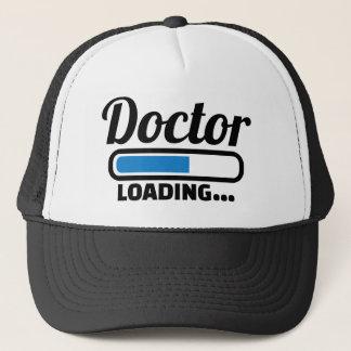 Doctor loading trucker hat