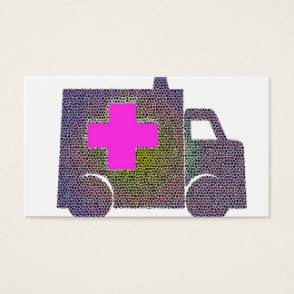 Doctor Nurse Medical Office Medic Destiny'S Business Card