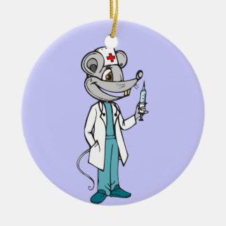 Doctor Nurse Mouse Ornaments