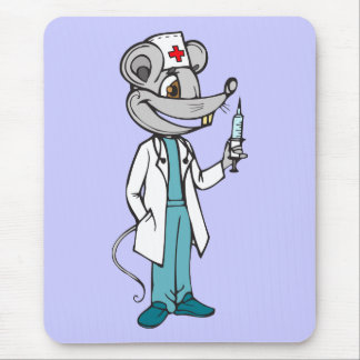 Doctor Nurse Mouse Mouse Pad