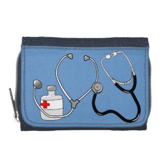Doctor Nurse Sports Medicine Peace Love Destiny Wallet
