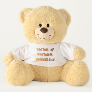 Doctor of Pastoral Counseling Teddy Bear