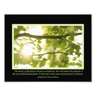 """Doctor of the Future Quote 11"""" x 8.5"""" Photo Print"""