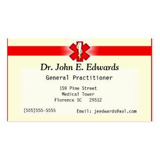 Doctor Office Business Card